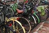 Station de stationnement vélo à Amsterdam — Photo