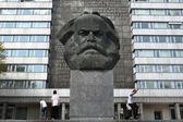 Karl Marx Monument in Chemnitz — Stock Photo