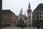 Altes Rathaus at Marienplatz in Munich — Stock Photo