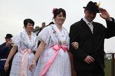 Sorbian Carnival in Lower Lusatia, Germany. — Stock Photo
