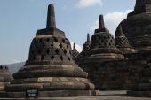 Ancient Borobudur Temple — Stock Photo