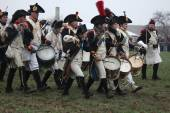 Reenactment of the Battle of Austerlitz (1805), Czech Republic. — Stock Photo