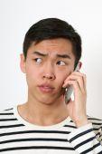 Serious Asian man — Stock Photo