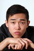 Romantic Asian man — Foto Stock
