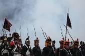 Re-enactment of the Battle of Austerlitz — Stock Photo