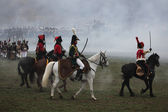 Re-enactment of the Battle of Austerlitz — Stock Photo