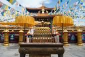 Nanshan Temple scenery at Hainan, China — Stock Photo