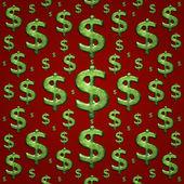 Pieniądze symbol tło wzór — Zdjęcie stockowe
