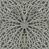 Ancient Arabesque Stone Ornament — Stock Photo