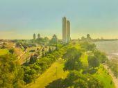Aerial View of Rosario Coast — Stock Photo