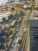 Montevideo Commercial Port Aerial View  — Foto Stock