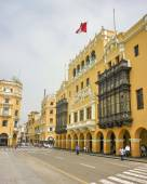 Historic Center of Lima in Peru — Stockfoto