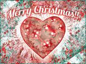 Merry Christmas Background Design — Stock Photo