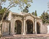 Montevideo Cemetery Frontage — Stock Photo