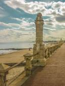 Piriapolis Boardwalk and Beach — Stockfoto
