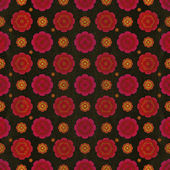 Floral Vintage Pattern — Stock Photo