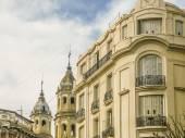 San Telmo Buildings in Buenos Aires — Zdjęcie stockowe