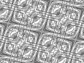 Zentangle Pattern — Stock Photo