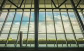 Montevideo Airport Inside View — Stock Photo
