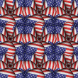 Modern Usa Flag Pattern — Stock Photo #64368041