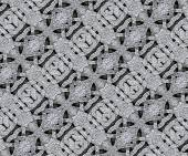 Ancient Arabesque Stone Ornament Pattern — Stock Photo