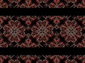 Floral Ornament Pattern — Stock Photo