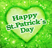 Happy St Patricks Day Design — Stock Photo