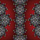 Decorative Jewels Collage Background — Stock Photo
