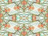 Digital Art Collage Background — Stock Photo