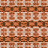 Warm Tones Ethnic Textile Pattern — Stock Photo