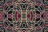 Tribal Geometric Art Pattern — Stock fotografie