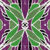 Decorative Floral Motif Pattern Background — Stock Photo