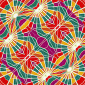 Multicolor Abstract Geometric Seamless Pattern — Stockfoto