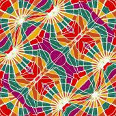 Multicolor Abstract Geometric Seamless Pattern — Stok fotoğraf
