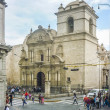 Eclectic Old Style Church in Arequipa City — Stock Photo #69739835