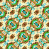 Collage de motif moderne coloré — Photo