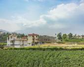Houses and Plantations in the Outsides of Arequipa — Stock Photo