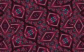 Geometric Futuristic Colorful Pattern — Stock Photo