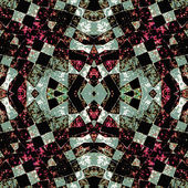Geometric Futuristic Dark Pattern — Stock Photo