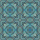 Futuristic Geometric Tech Pattern — Stock Photo
