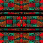 Abstract Geometric Seamless Pattern — Stock Photo