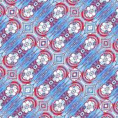 Decorative Modern Geometric Pattern — Stock Photo