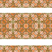 Stripped Decorative Seamless Pattern — Stock Photo
