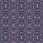 Seamless Tribal Background Pattern — 图库照片