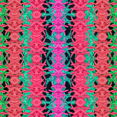 Multicolor Modern Oriental Abstract Pattern — Stock Photo