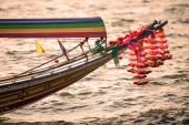 Longtail båt — Stockfoto