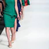 Fashion Show, A Catwalk Event — Stock Photo