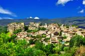 Saignon village, Vaucluse region, Provence, France — Stock Photo