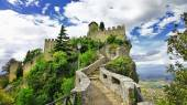 Scenic Italy series - San Marino, view with castle  — Stock Photo