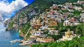 Panorama of beautiful Positano — Stock Photo
